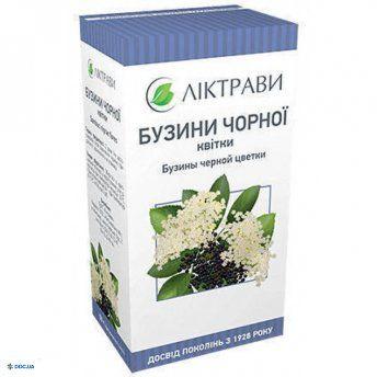 Бузины чёрной цветы, 40 г