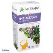 Препарат:  Фитоседан сбор в фильтр-пакетах 1,5 г №20