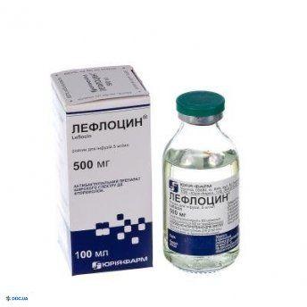 Лефлоцин раствор 5мг/мл 100мл
