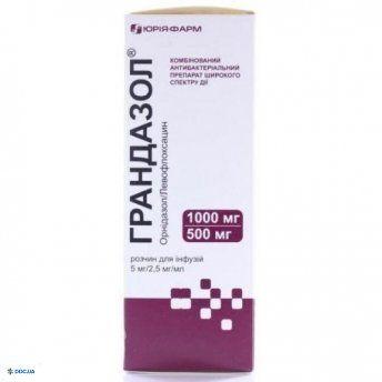 Грандазол раствор 5 мг/2,5 мг/мл 200 мл
