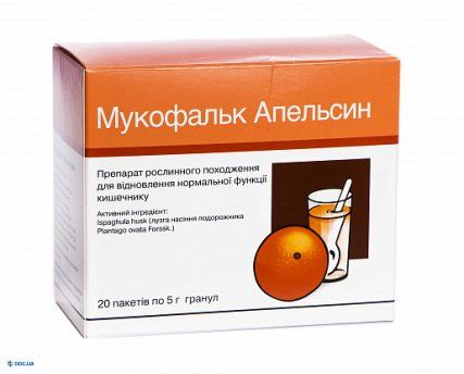 Мукофальк апельсин пакетик 5 г, №20