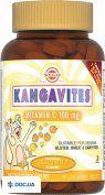 Препарат: Солгар Кангавитес с витамином С, апельсин, Таблетки,100мг, N90