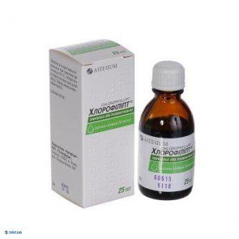 Хлорофіліпт 2% олійний р-н Флакон 25мл