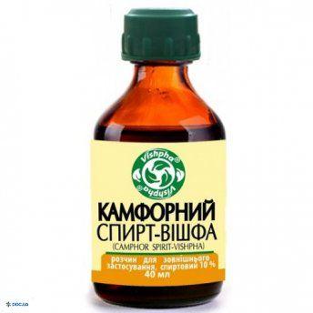 Камфорный спирт-Вишфа 10%  40 мл
