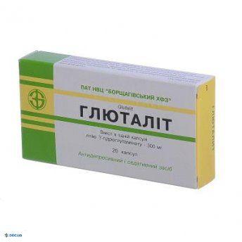 Глюталит капсулы 300 мг, №20