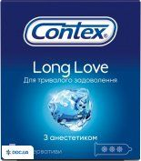 Препарат: Презервативы Contex лонг лав №3
