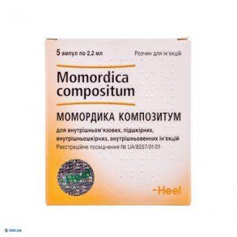 Момордика композитум,  Ампулы, 2,2мл, №5