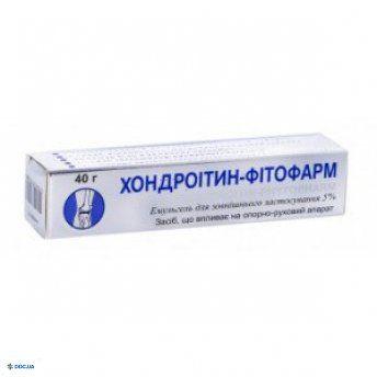 Хондроитин-Фитофарм эмульгель 5% 40г