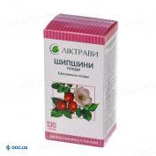 Препарат: Шиповника плоды, коробка, 130 г