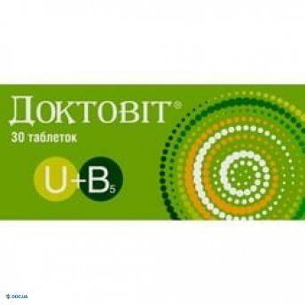 Препарат: Доктовит табл. 367,5 мг № 30