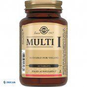 Препарат: Мульти-I таблетки, N30
