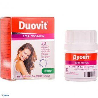 Дуовит для женщин табл. п/о № 30