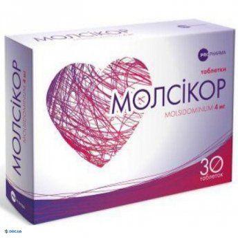 Молсикор таблетки 4 мг №30