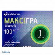 Препарат: Максигра  100 мг №1