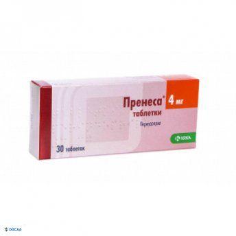 Пренеса таблетки 4 мг №30