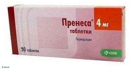 Пренеса таблетки 4 мг №90