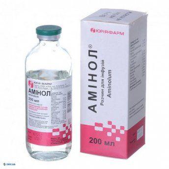 Аминол раствор для инфузий 200 мл