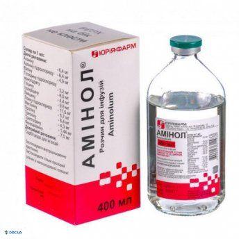 Аминол раствор для инфузий 400 мл