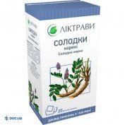 Препарат: Солодки корни 1,5 г фильтр-пакет №20