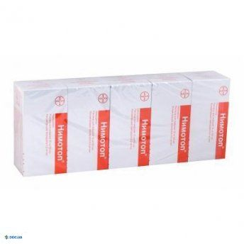 Нимотоп р-р инф. 10 мг фл. 50 мл № 5