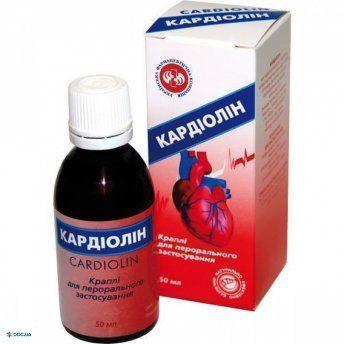 Кардиолин капли для перорального применения флакон 50 мл, №1