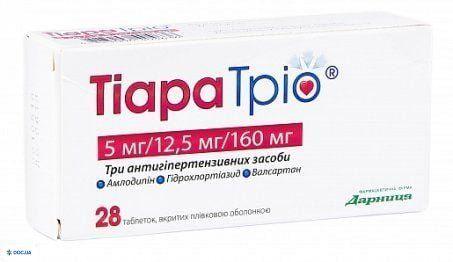 Тиара трио таблетки 177,5 мг, №28
