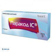 Препарат: Паракод ІС таблетки №10