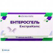 Препарат: Энтеросгель Экстракапс капсулы №14