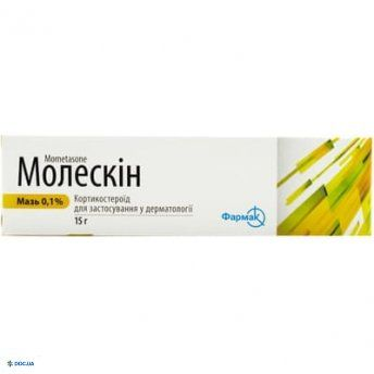 Молескин мазь 0,1 % туба 15 г