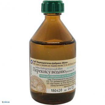 Перекись водорода- Виола флакон р-р 3% 100 мл, №1