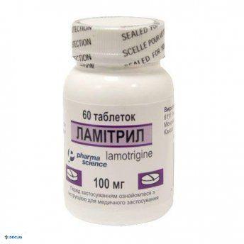 Ламитрил таблетки 100 мг флакон, №60