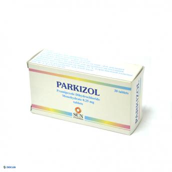Паркизол таблетки 0,25 мг №30
