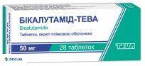 Препарат: Бикалутамид-Тева таблетки 50 мг, №28