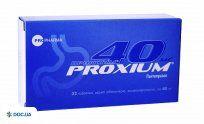 Препарат: Проксиум таблетки 40 мг №32