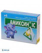 Препарат: Амиксин ІС 0,06 г № 6