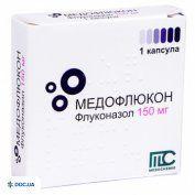 Препарат: Медофлюкон капсулы 150 мг, №1
