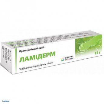Ламидерм крем 10 мг/г 15 г