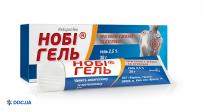 Препарат: Ноби гель 2.5%, 30 г туба