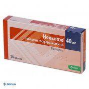 Препарат: Нольпаза таблетки 40 мг, №28