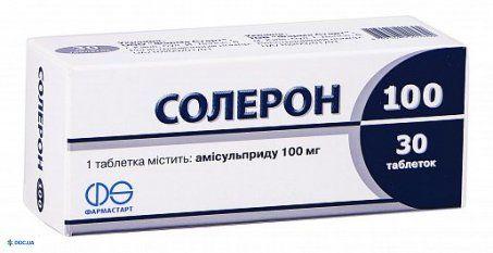 Солерон таблетки 200 мг №60