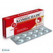 Препарат: Комбиспазм таблетки №20