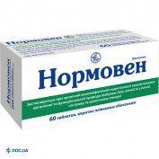 Препарат: Нормовен таблетки №60