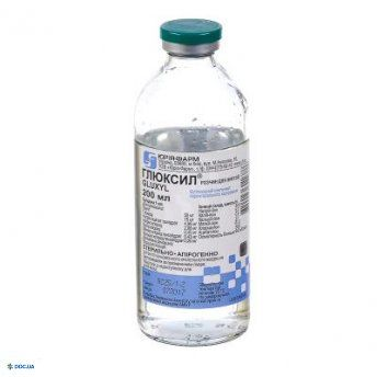 Глюксил раствор для инфузий 200 мл