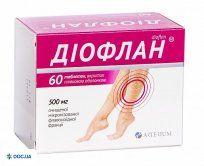 Препарат: Диофлан таблетки 500 мг №60