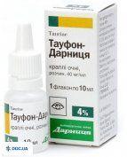 Препарат: Тауфон-Дарница капли глазные 40 мг/мл 10 мл