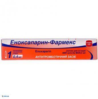 Эноксапарин-Фармекс раствор для инъекций 0,4 мл №1