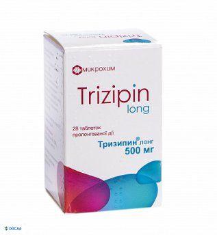 Тризипин Лонг таблетки 500 мг №28