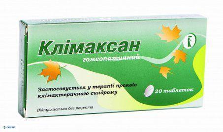 Климаксан таблетки №20