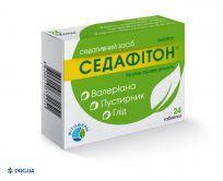 Препарат: Седафитон таблетки №24