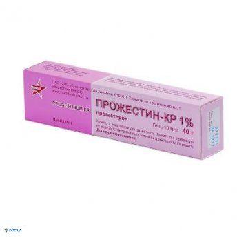 Прожестин-КР  гель 10 мг/1г туба 40 г, №1